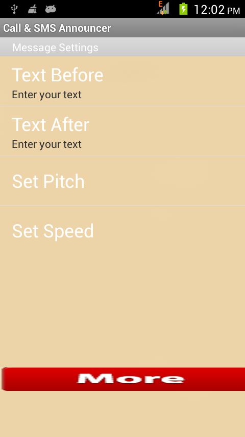 caller name and sms announcer 2