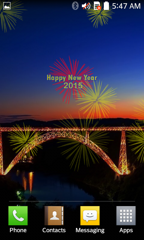 new year fireworks lwp 2015