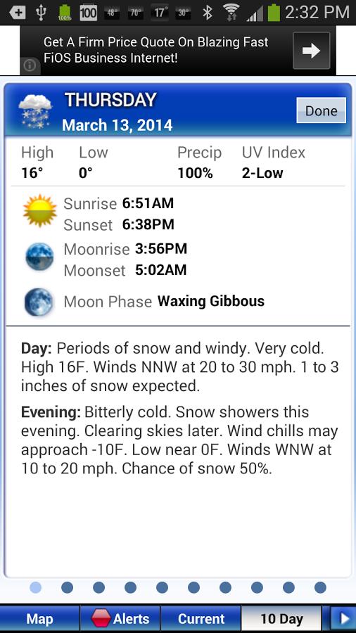 intellicast weather