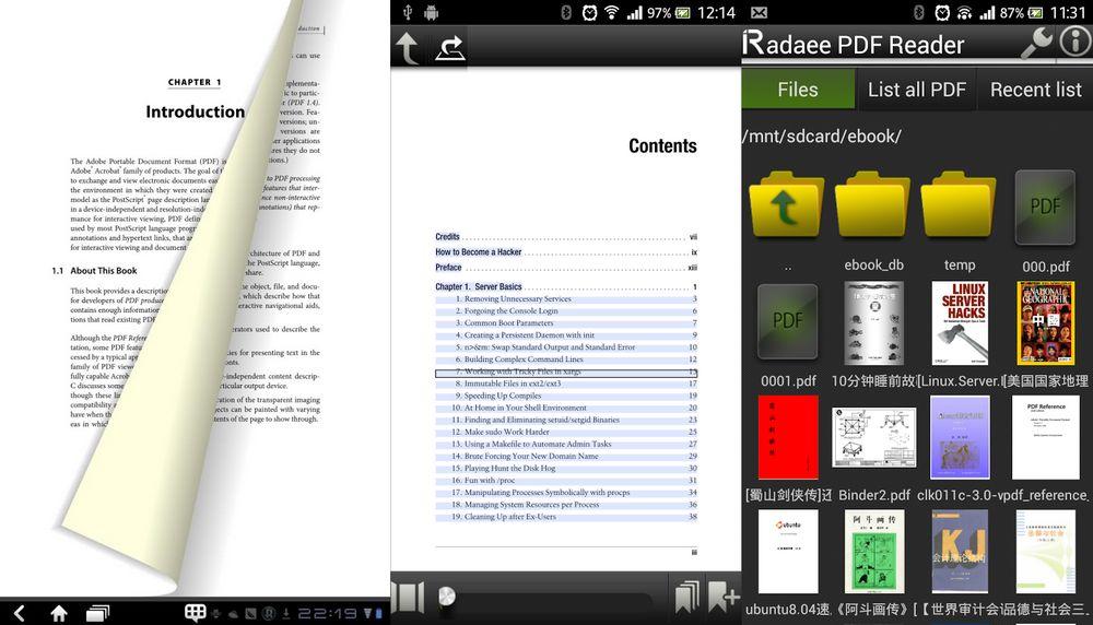 Radaee pdf reader
