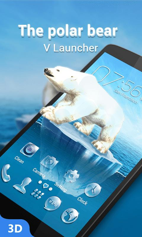 V Launcher 3d Theme Hd Wallpaper Android Apps Reviews