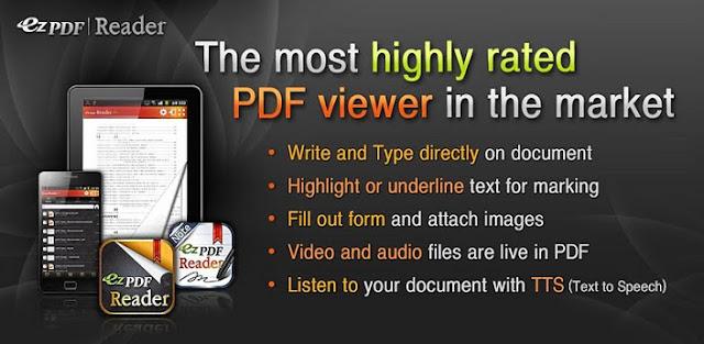 ANDROID TABLET PDF READER EPUB