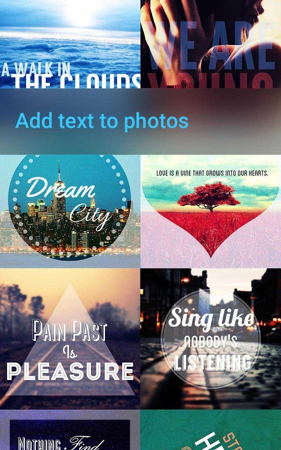 iphone add text to photo top 7 android apps for adding text to photo 17612