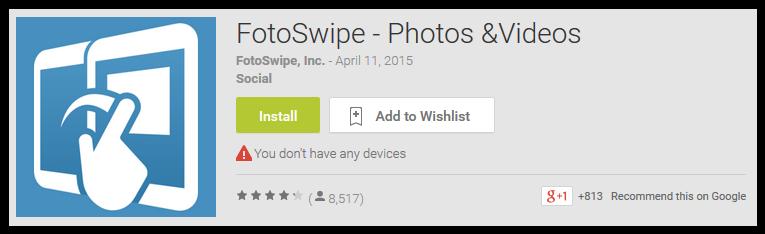 FotoSwipe-Photos & Videos