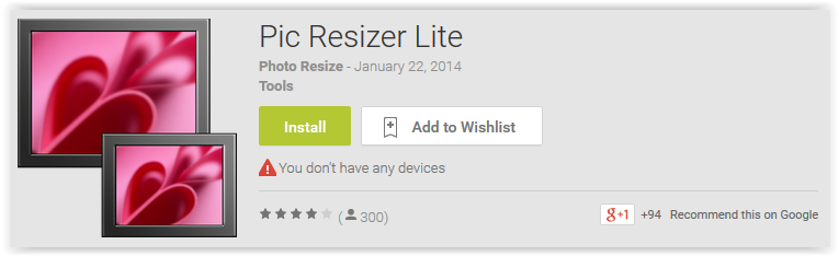 Pic Resizer Lite