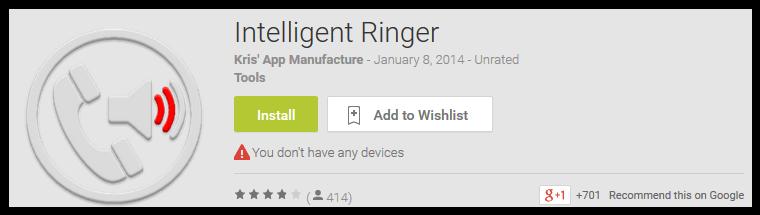 Intelligent Ringer
