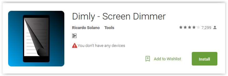 Dimly - Screen Dimmer