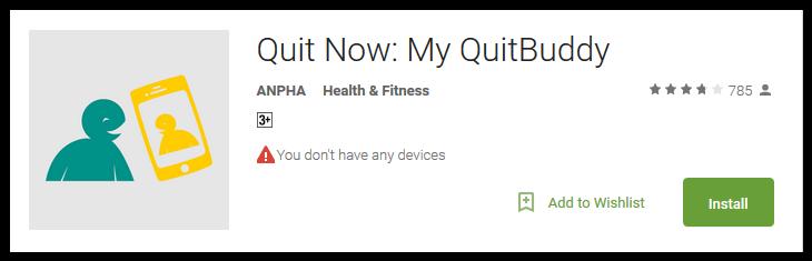 Quit Now My QuitBuddy