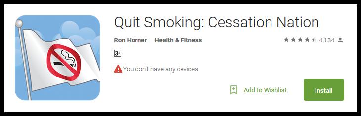 Quit Smoking Cessation Nation