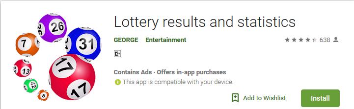 irish lotto results checker app ▷▷ a c i