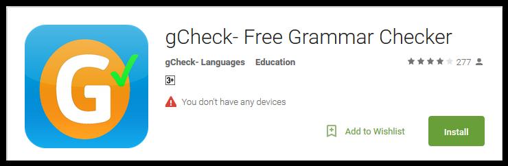 online writing grammar checker Free grammar & spell checker by grammarcom -- check it out.