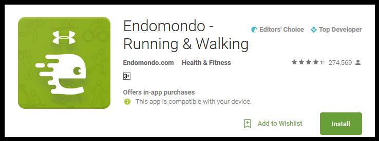 Endomondo - Running & Walking