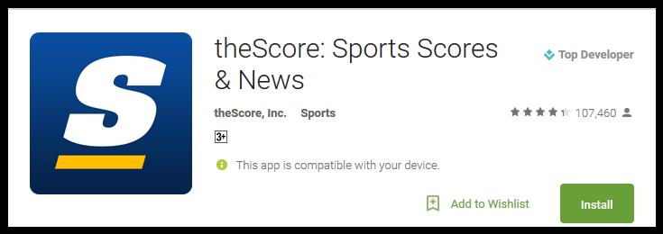 theScore Sports Scores & News