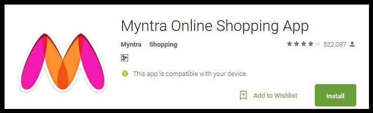 myntra-online-shopping-app