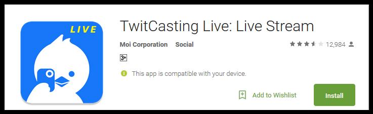 twitcasting-live-live-stream