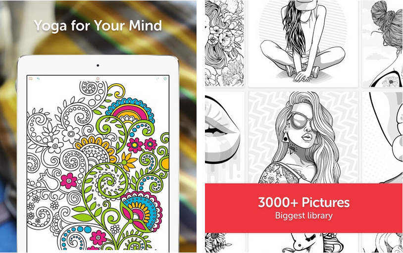 Top 10 Adult Coloring Book Apps For Android To Color In Sketches