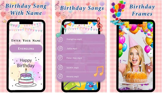5 Best Birthday Songs with Name Apps for Android