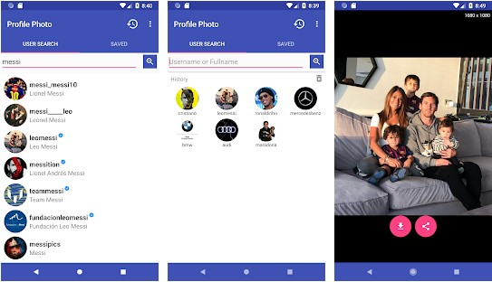 Top 5 Android Apps to See Instagram Profile Pictures in Big Size