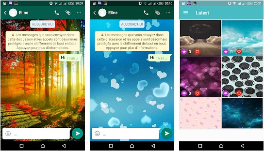 WhatsApp Wallpapers Apps for Android 2020